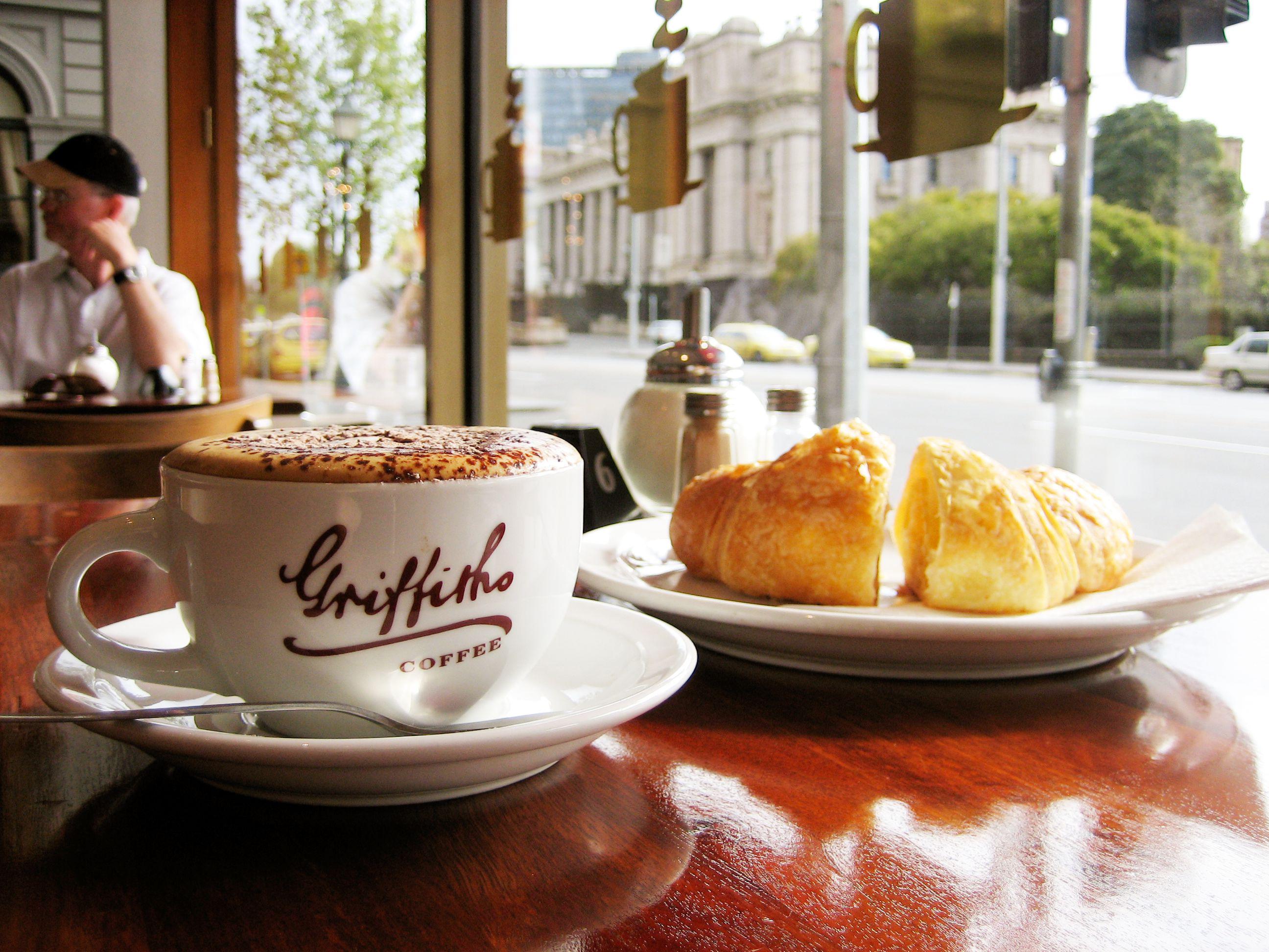 hidangan kopi di Kota Melbourne