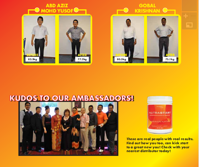 4Life Nutrastart program diet 2 minggu