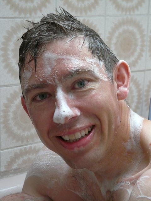 Kesalahan dalam mencuci muka