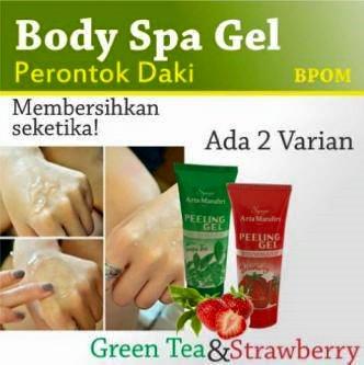 Body Spa Exfoliating - Peeling Gel