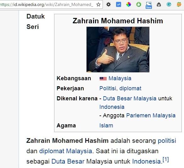 Terima Kasih Atas Orderan Duta Besar Malaysia di Tokoina.com 1