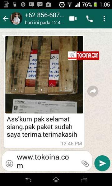Terima Kasih Atas Orderan Duta Besar Malaysia di Tokoina.com 6
