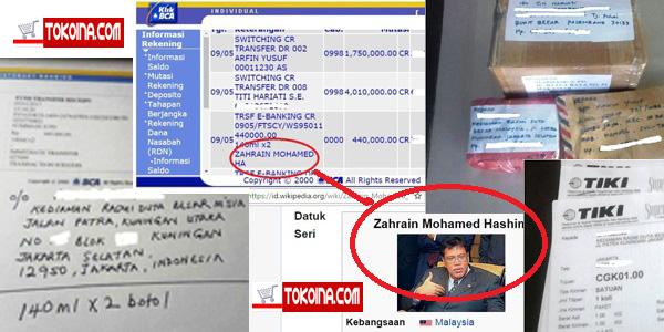 Terima Kasih Atas Orderan Duta Besar Malaysia di Tokoina.com 7