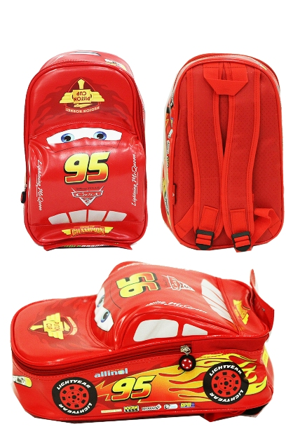 Tas Sekolah TK Cars On The Road 3D