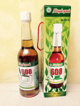 Minyak Gosok 608 Liu Lin Pa