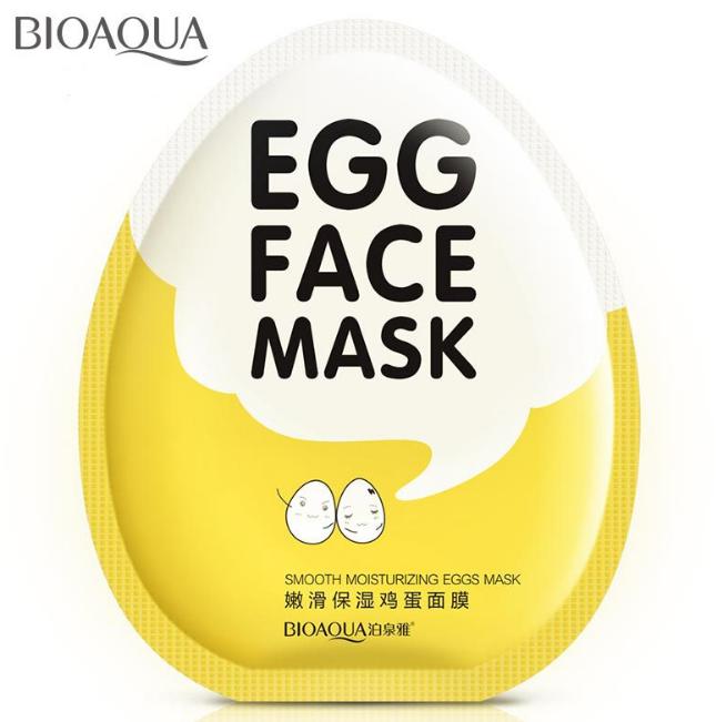 Bioaqua Egg Face Mask
