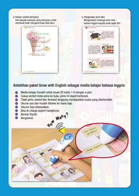 Paket Grow With English With E-Pen 5
